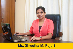 Ms. Shwetha Pujari Executive Director