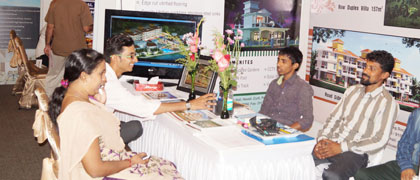 Exhibitors at Goa Property Show